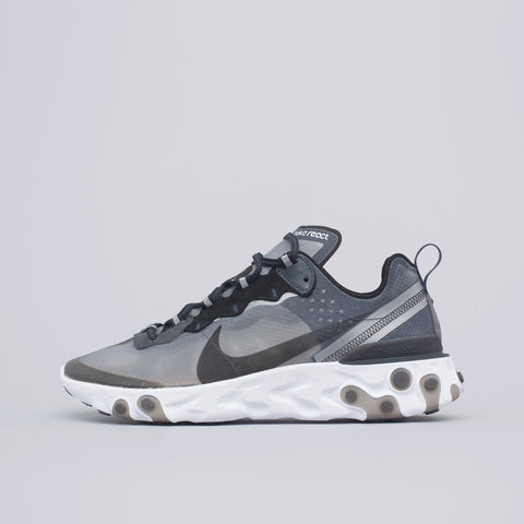 Nike React Element 87 in Anthracite/Black - Notre