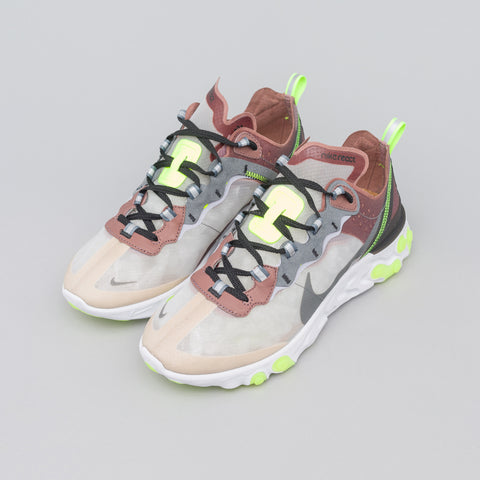 Nike React Element 87 in Desert Sand/Cool Grey - Notre