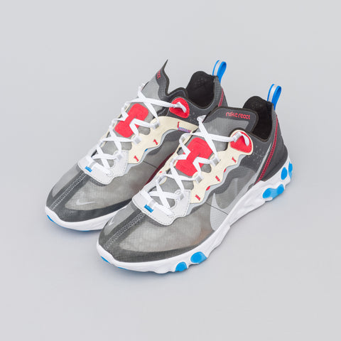 Nike React Element 87 in Dark Grey/Blue - Notre