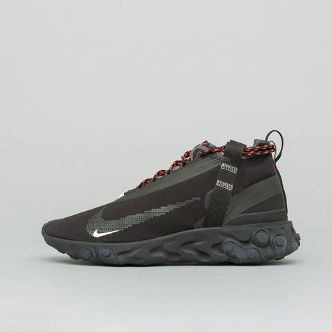 Nike React Mid WR ISPA in Black/Anthracite - Notre
