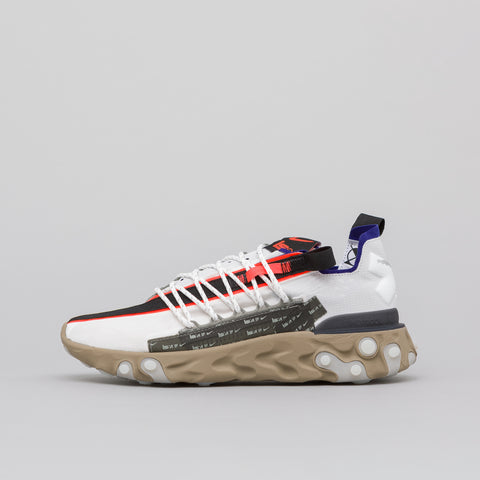 Nike Nike ISPA React WR in Summit White/Deep Royal - Notre
