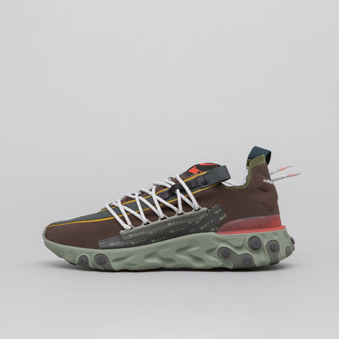 Nike Nike ISPA React WR in Velvet Brown/Terra Orange - Notre