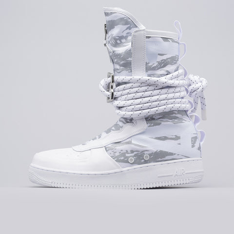 Nike SF AF-1 High Premium in White - Notre
