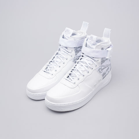 Nike Special Field Air Force 1 Mid PRM in White - Notre