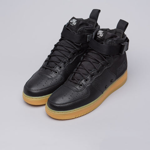 Nike Women's Special Field Air Force 1 Mid in Black/Gum - Notre
