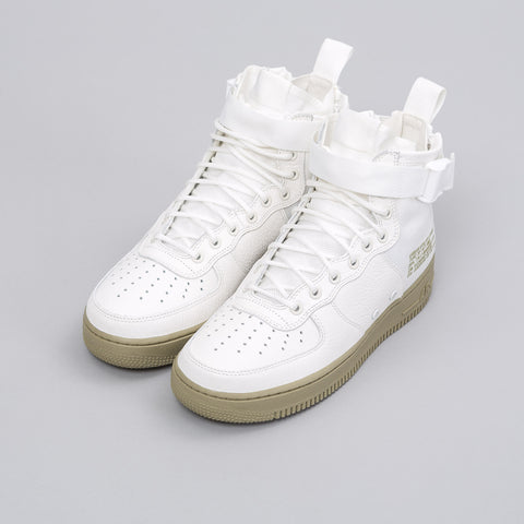Nike Special Field Air Force 1 Mid in Ivory/Olive - Notre