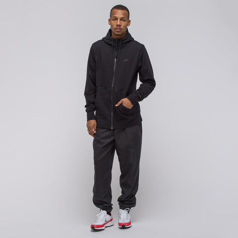 Nike Sportswear Air Force 1 Fullzip Fleece Hoodie in Black - Notre