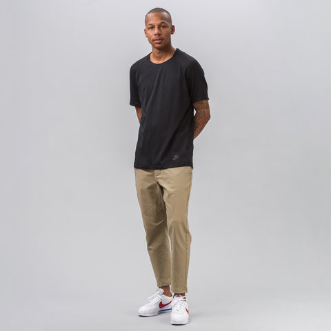 Nike Sportswear Bonded SS Top in Black - Notre