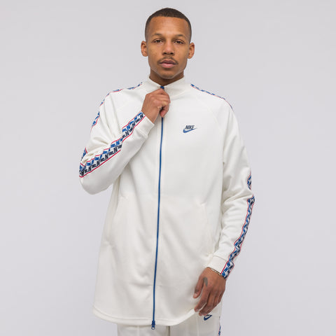 Nike Taped Poly Track Jacket in Sail - Notre