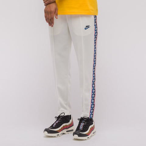 Nike Taped Poly Track Pant in Sail/Obsidian - Notre