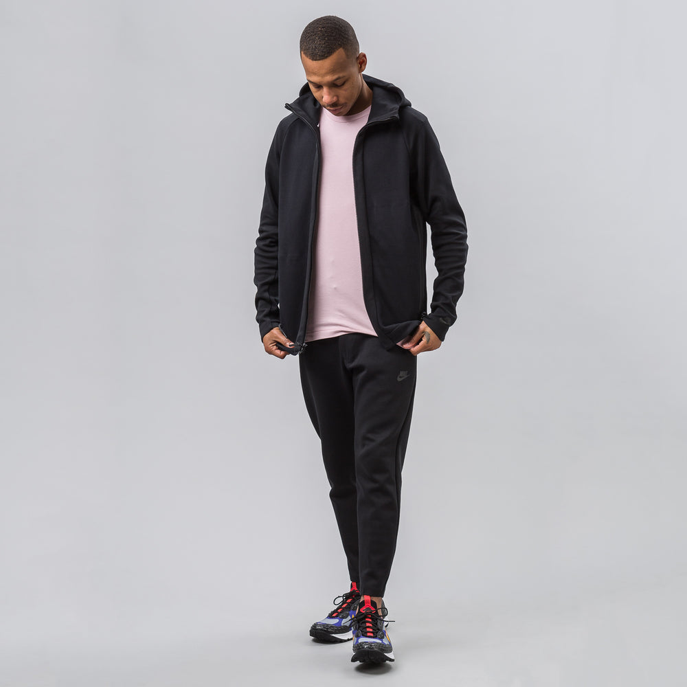 Nike Tech Fleece Hoodie Full Zip in Black - Notre