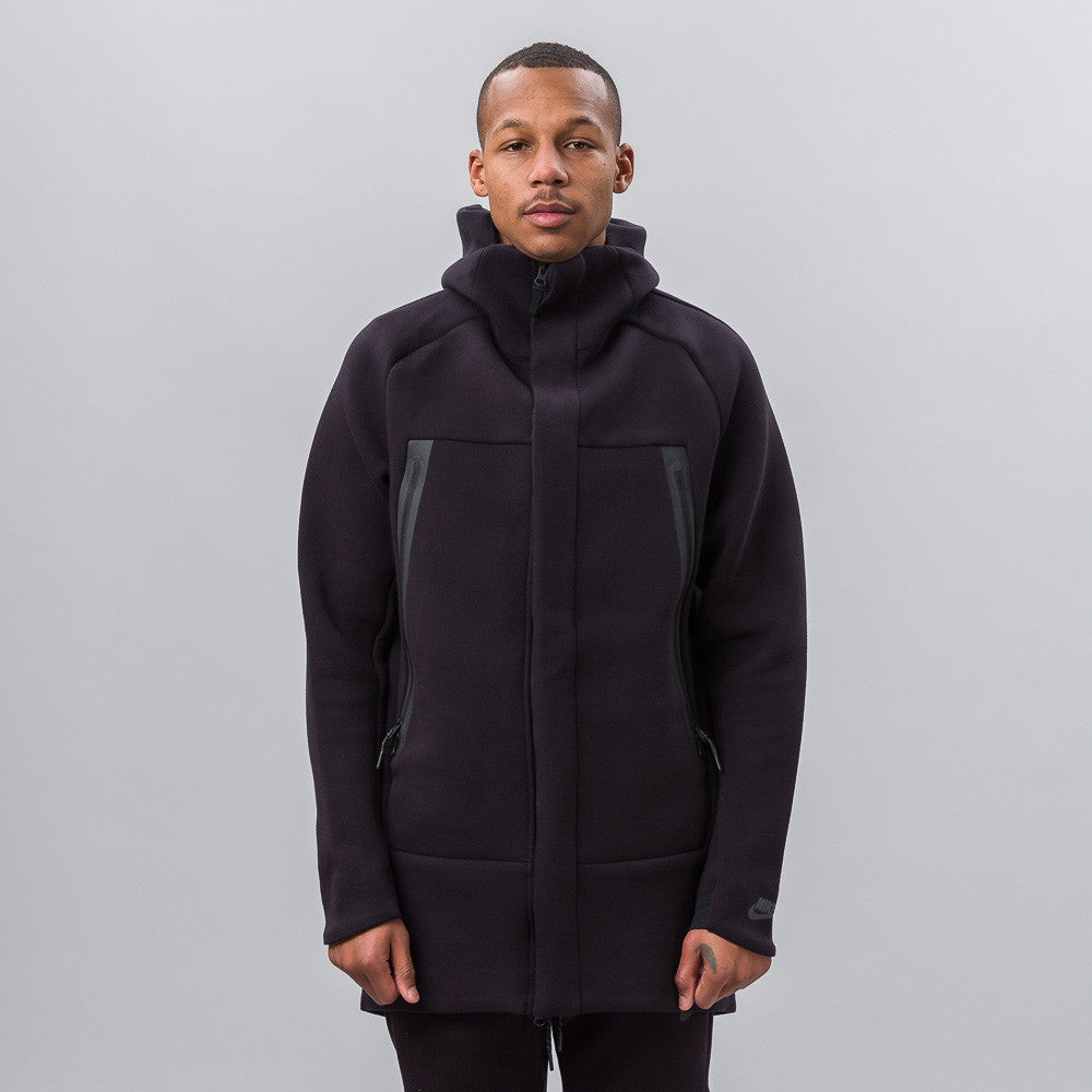 Nike Tech Fleece Parka in Black - Notre