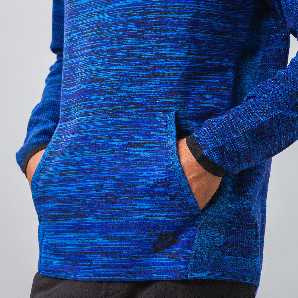 Tech Knit Crew in Cobalt