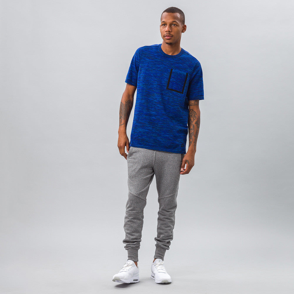Nike - Tech Knit Pocket Tee in Cobalt - Notre - 1