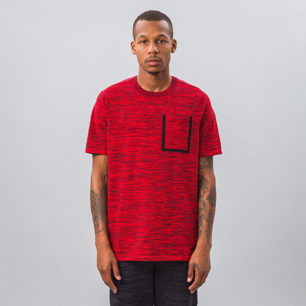 Nike - Tech Knit Pocket Tee in Crimson - Notre - 1