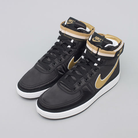 Nike Vandal High Supreme in Black/Gold - Notre