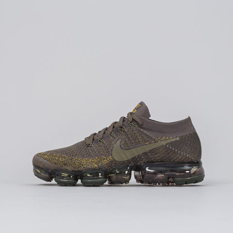 Nikelab Air Vapormax Flyknit in Midnight Fog / Cargo Khaki