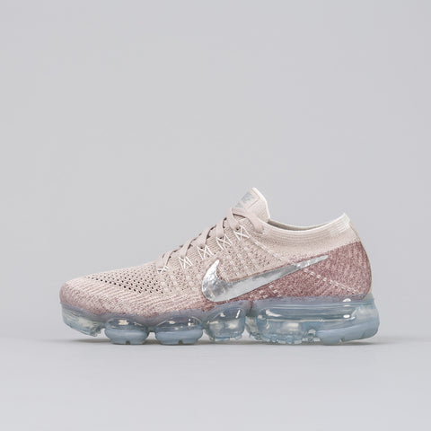 Nike Women's Air Vapormax Flyknit in String / Chrome - Notre