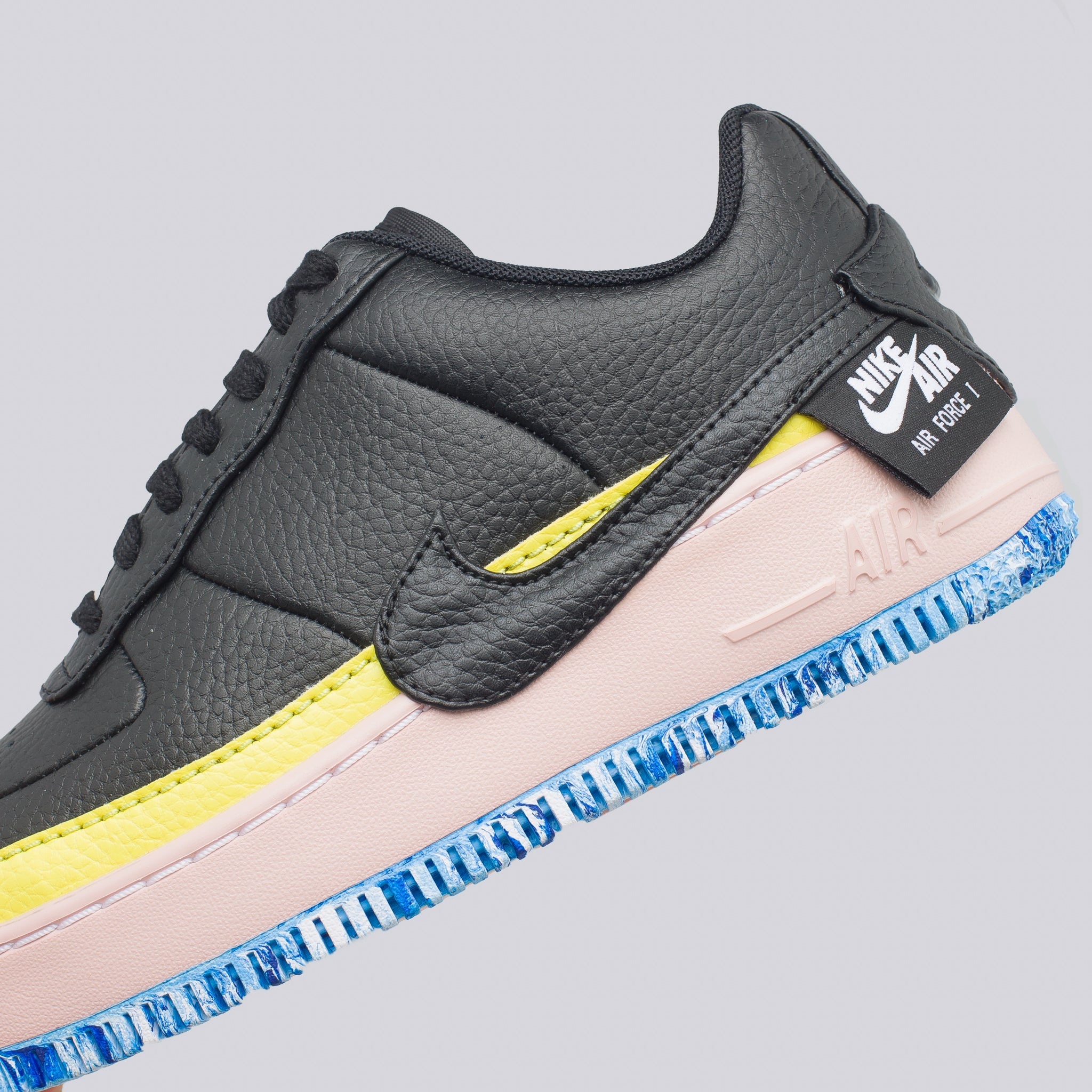 Women's Air Force 1 Jester XX SE in Black/Yellow