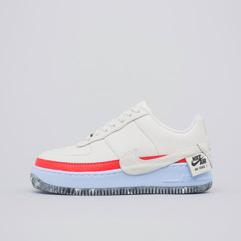 Nike Women's Air Force 1 Jester XX SE in Light Bone/Team Orange - Notre