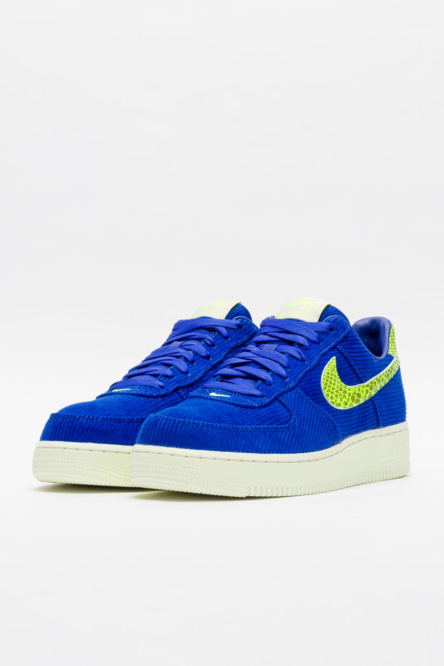 Nike Olivia Kim Air Force 1 07 in Hyper Blue/Volt - Notre