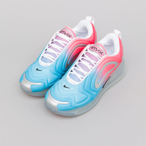 Nike Women's Air Max 720 in Lava Glow/Blue Fury - Notre