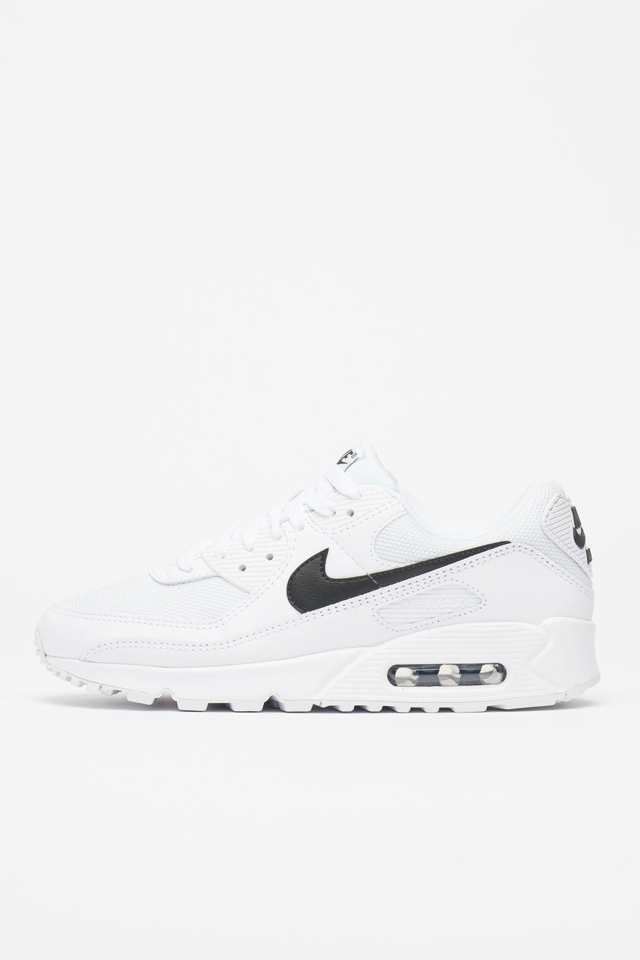 W Air Max 90 In White Black
