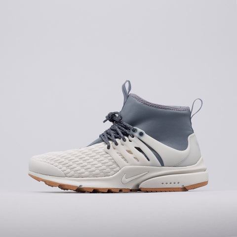 Nike Women's Air Presto Mid Utility in Light Bone/Grey - Notre