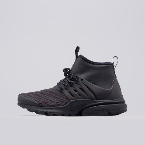 Nike Women's Air Presto Mid Utility PRM in Black - Notre
