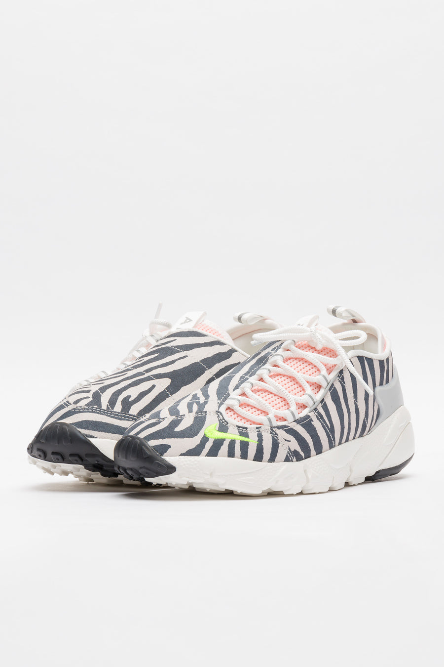 Nike Olivia Kim Air Footscape in White/Black/Bleached Coral - Notre
