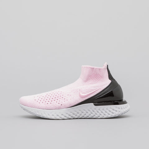 Nike Women's Rise React Flyknit in Pink Foam - Notre