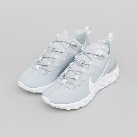 Nike Women's Element React 55 in Wolf Grey/Ghost Aqua - Notre