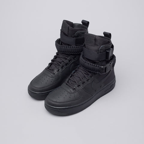 Nike Women's Special Field Air Force 1 in Triple Black - Notre