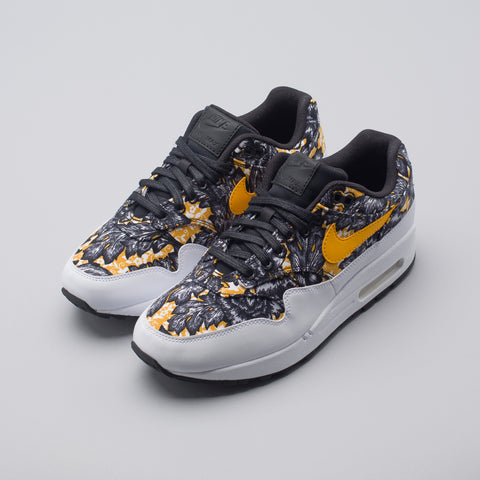Nike Women's Air Max 1 QS in White/Gold/Black - Notre