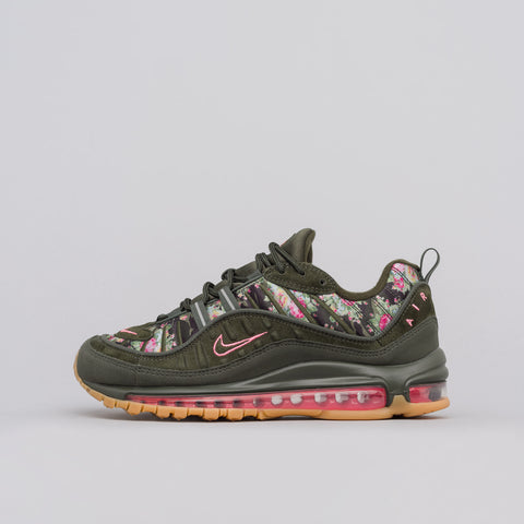 Nike Women's Air Max 98 Camo in Sequoia - Notre