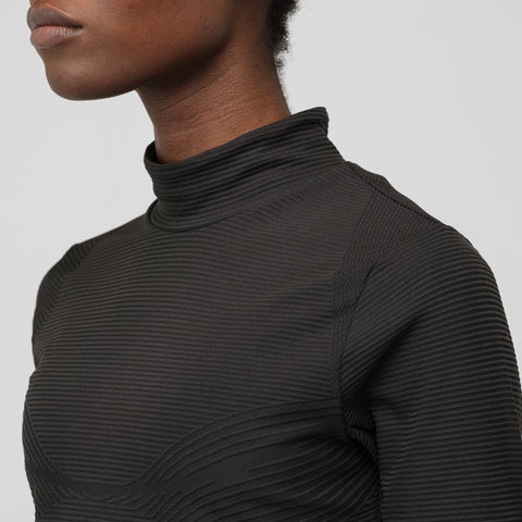 NikeLab Women's Long Sleeve Top in Black - Notre