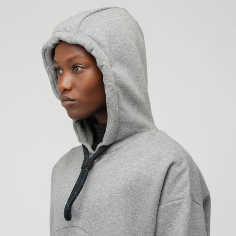NikeLab Women's NWCC Sweatshirt in Carbon Heather - Notre