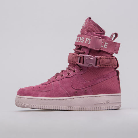 Nike Women's SF AF1 Force is Female in Port Wine - Notre
