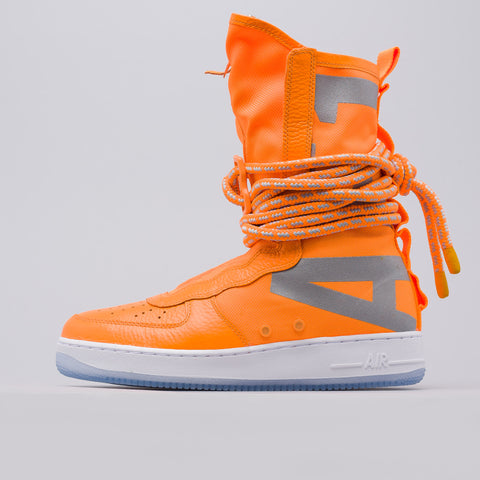 Nike Special Field Air Force 1 Hi Boot in Total Orange - Notre