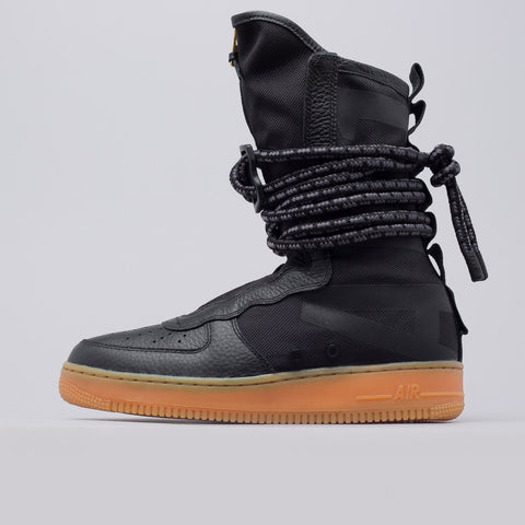 Nike Women's SF AF-1 High in Black - Notre