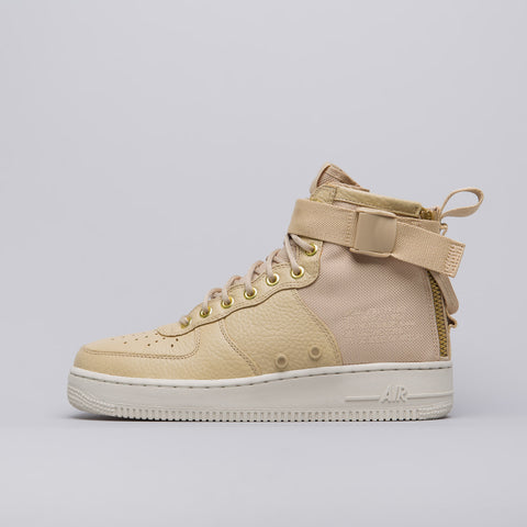 Nike Women's Special Field Air Force 1 Mid in Mushroom - Notre