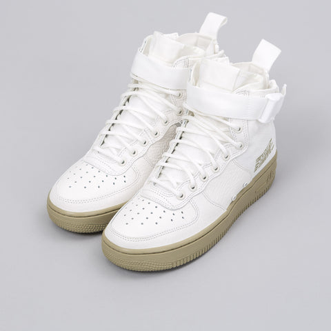 Nike Women's Special Field Air Force 1 Mid in Ivory/Mars Stone - Notre