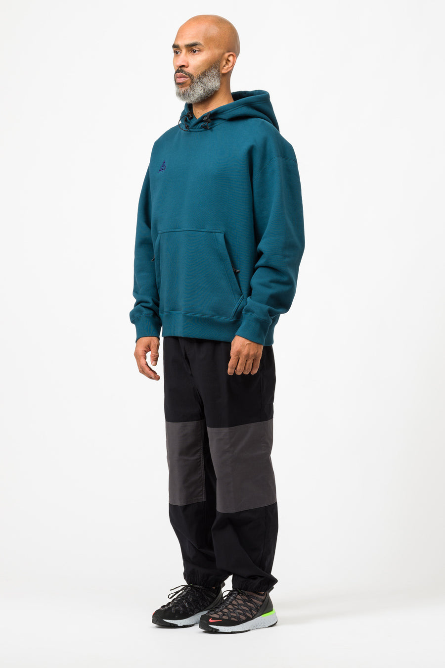 Nike ACG Pullover Hoodie in Midnight Turquoise/Purple - Notre