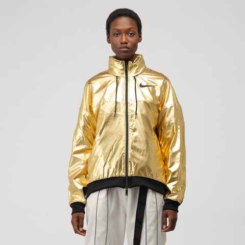 Nike x Ambush Women's Reversible Jacket in Phantom/Gold Foil - Notre
