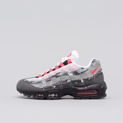 Nike x Atmos Air Max 95 'We Love Nike' in Black/Crimson - Notre
