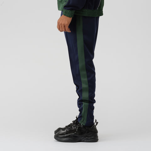 NikeLab x Martine Rose Track Pant in Blue/Green - Notre