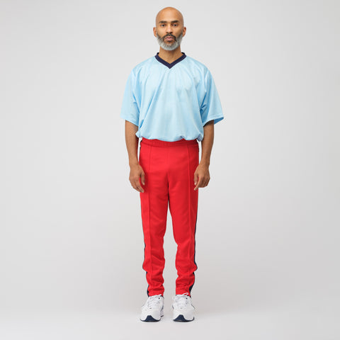 NikeLab x Martine Rose Track Pant in Red/Blue - Notre