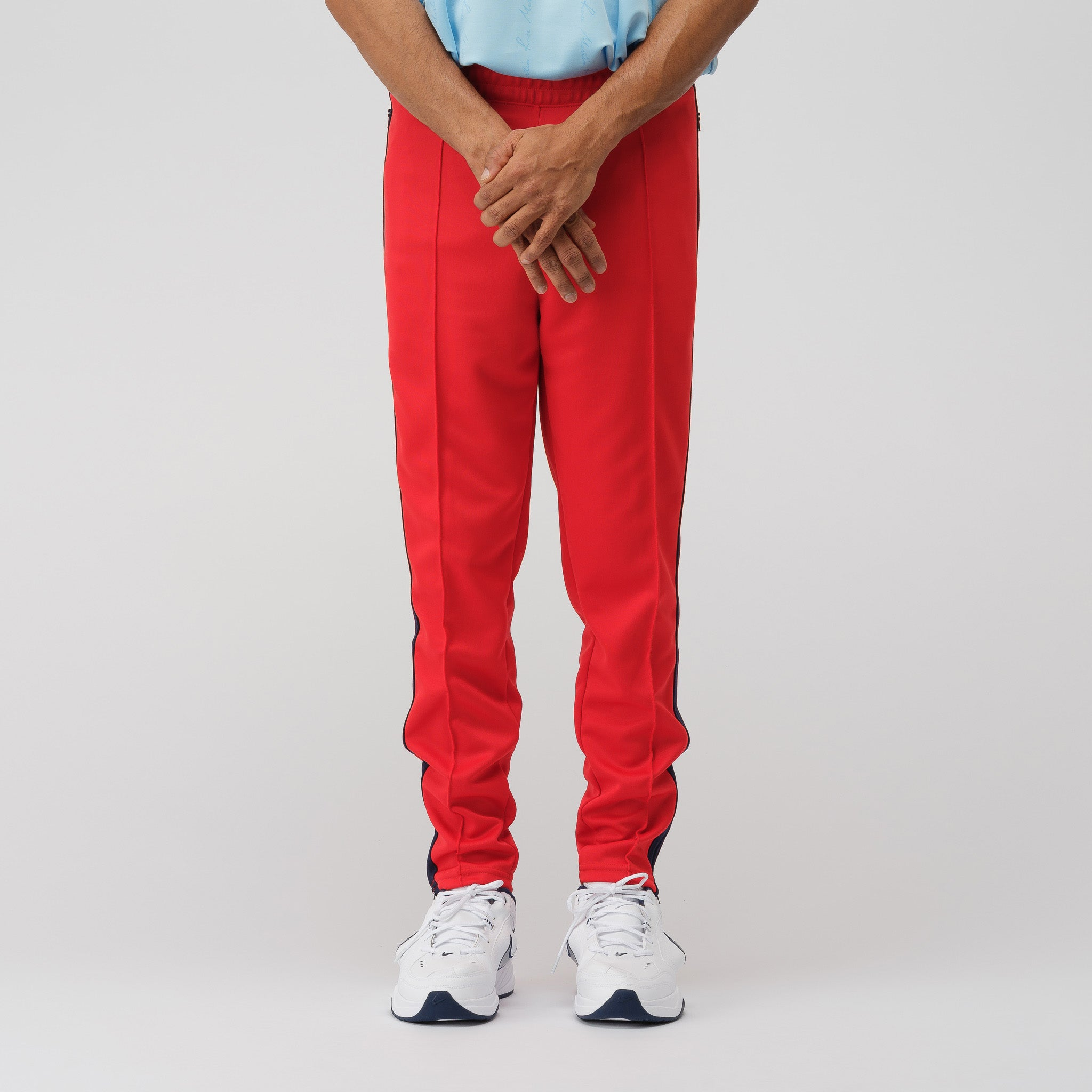 x Martine Rose Track Pant in Red/Blue