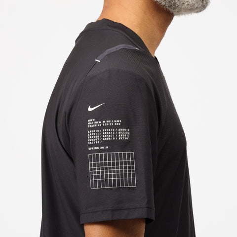 Nike MMW Short Sleeve Top in Black - Notre
