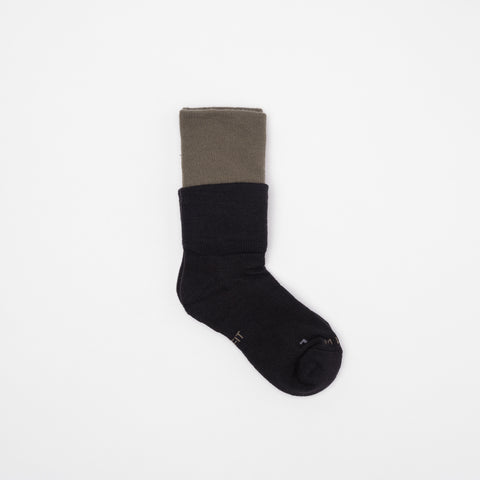 MMW Sock in Twilight Marsh/Black